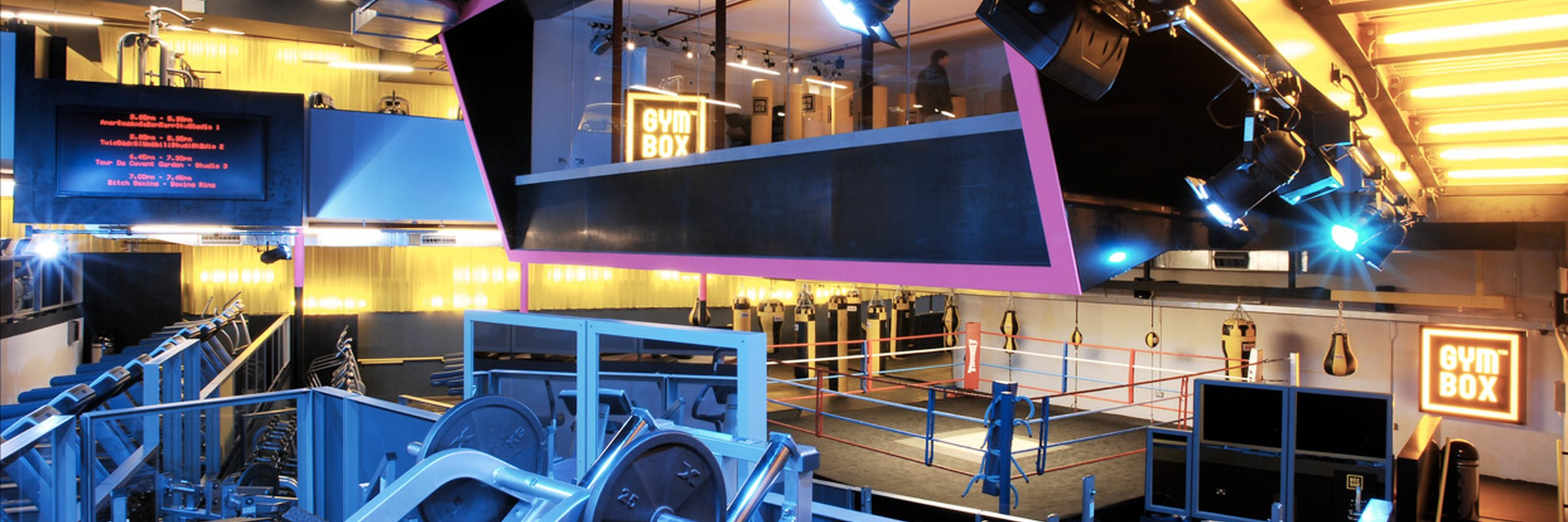 Gymbox, Covent Garden